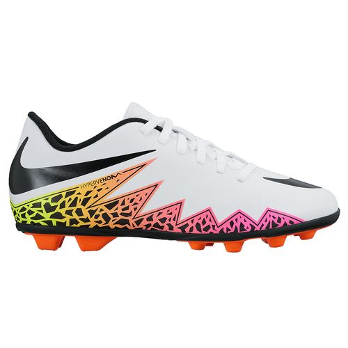 Nike Kids' Junior HyperVenom Phade II Firm-Ground Soccer Shoes