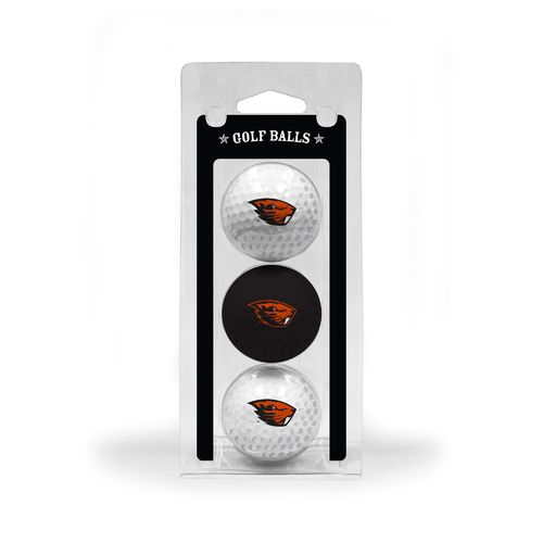 Team Golf Oregon State University Golf Balls 3-Pack