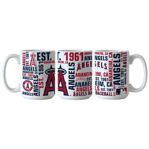 Boelter Brands Los Angeles Angels of Anaheim Spirit 15 oz. Coffee Mugs 2-Pack