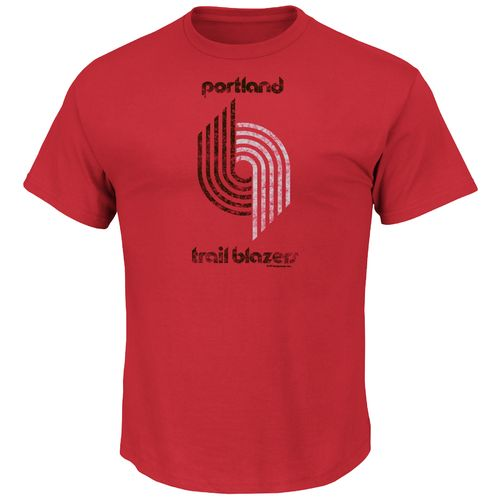 Majestic Men's Portland Trail Blazers Hardwood Classics Post Up T-shirt