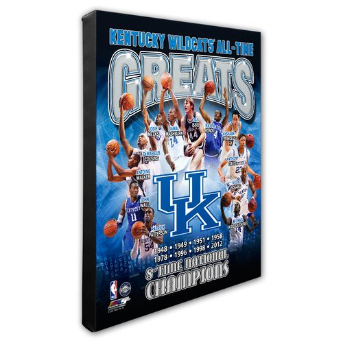 Photo File University of Kentucky All-Time Greats Stretched Canvas Photo