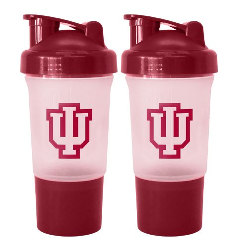Boelter Brands University of Indiana 16 oz. Protein Shakers 2-Pack