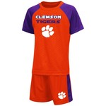Colosseum Athletics Toddler Boys' Clemson University Gridlock Set