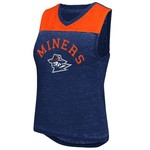 Colosseum Athletics Women's University of Texas at El Paso Kiss Cam Tank Top
