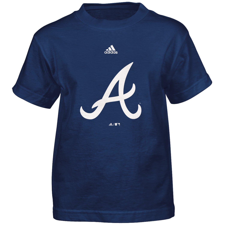 adidas™ Boys' Atlanta Braves Primary Logo T-shirt
