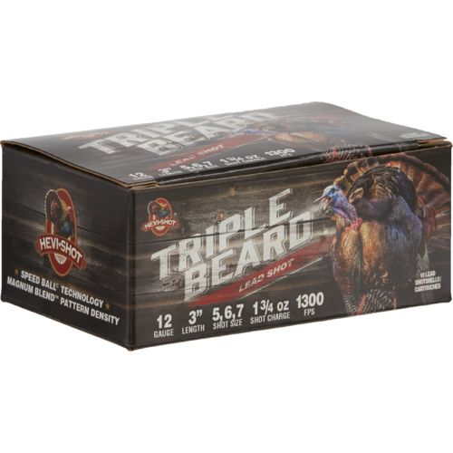 HEVI-Shot Triple Beard 12 Gauge Shotgun Ammunition