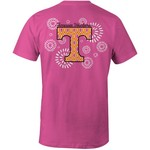 Image One Women's University of Tennessee Fireworks Comfort Color Short Sleeve T-shirt
