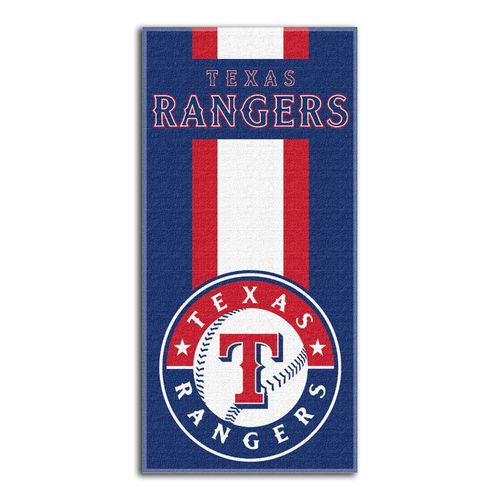The Northwest Company Texas Rangers Zone Read Beach Towel