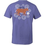Image One Women's Clemson University Fireworks T-shirt