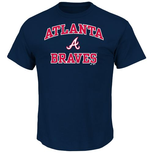 Majestic Men's Atlanta Braves Heart and Soul T-shirt