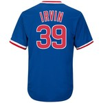 Majestic Men's Chicago Cubs Monte Irvin #39 Cooperstown Cool Base 1968-69 Replica Jersey - view number 1