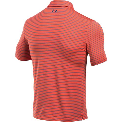 Under Armour Men's coldblack Address Stripe Polo Shirt - view number 2