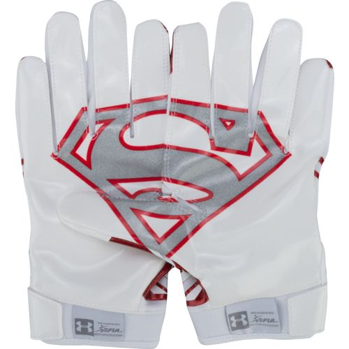 Under Armour® Adults' Alter Ego Superman Football Gloves