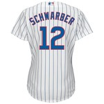 Majestic Women's Chicago Cubs Kyle Schwarber #12 Replica Jersey