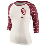 Nike Women's University of Oklahoma Veer Raglan T-shirt