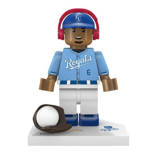 OYO Sports Kansas City Royals Lorenzo Cain #6 Minifigure