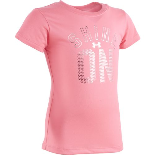 Under Armour Girls' Shine On T-shirt