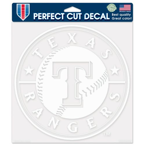 WinCraft Texas Rangers Perfect Cut Decal