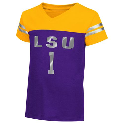 Colosseum Athletics™ Toddler Girls' Louisiana State University Nickle T-shirt