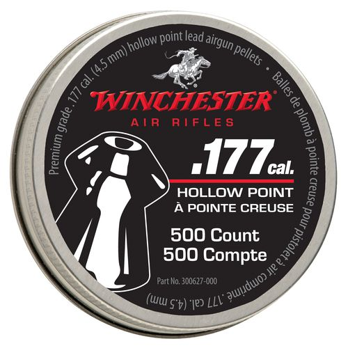 Winchester Premium .177 (4.5mm) Caliber Hollow Point Air Gun Pellets
