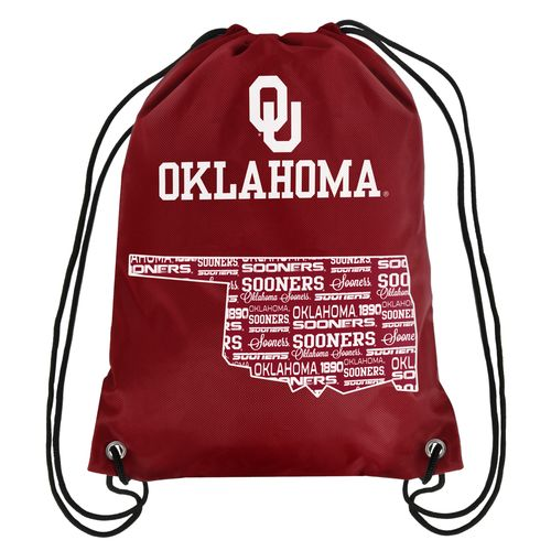 Forever Collectibles™ University of Oklahoma Drawstring Backpack