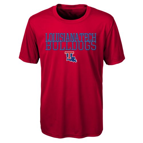 Gen2 Toddlers' Louisiana Tech University Overlap Poly T-shirt