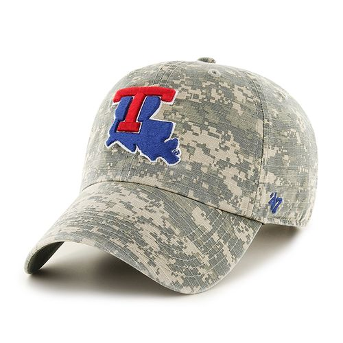 '47 Louisiana Tech University Officer Camo Clean-Up Cap