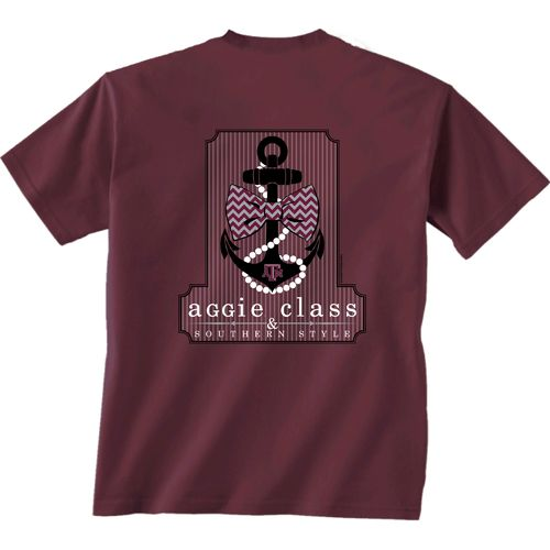 New World Graphics Boys' Texas A&M University Southern Anchor T-shirt
