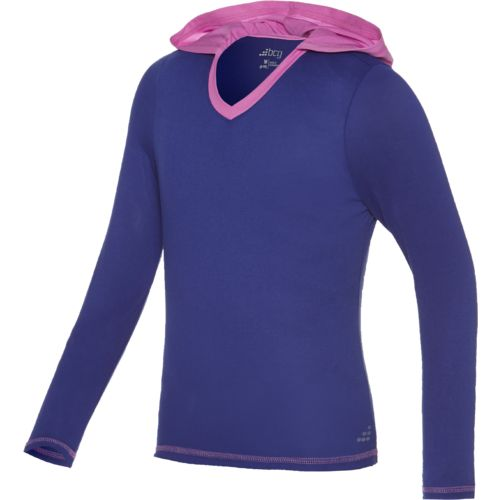 BCG Girls' Hooded Tech Pullover