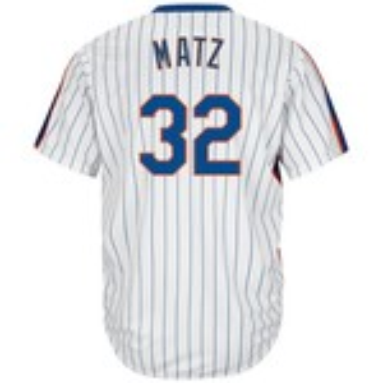 Majestic Men's New York Mets Steven Matz #32 Cool Base Cooperstown Jersey