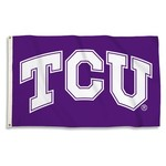BSI Texas Christian University 3'H x 5'W Flag