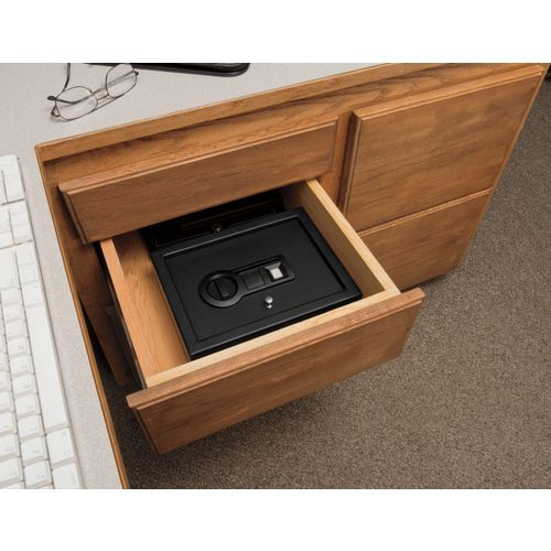 Stack-On Small Drawer Biometric Lock Safe - view number 4