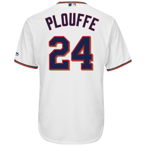 Majestic Men's Minnesota Twins Trevor Plouffe #24 Cool Base® Home Jersey