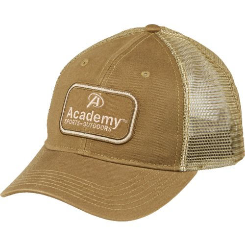 Academy Sports + Outdoors™ Men's Billboard Stacked Logo Trucker Hat