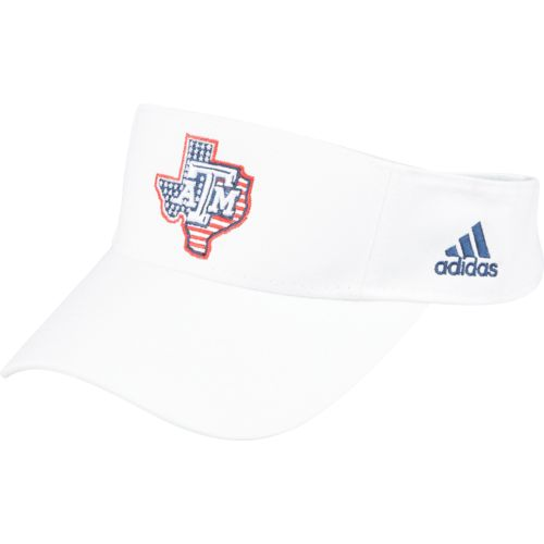 adidas™ Men's Texas A&M University 9/11 Memorial Game Visor