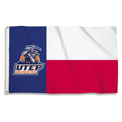 BSI University of Texas at El Paso 3' x 5' Fan Flag - view number 1