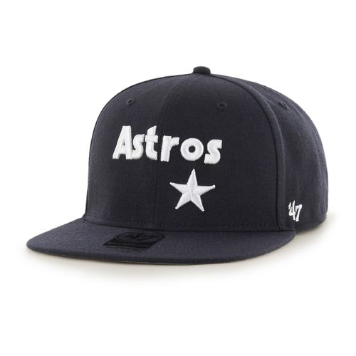 '47 Houston Astros Cooperstown Captain Script Cap
