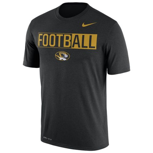 Nike™ Men's University of Missouri Football Legend T-shirt