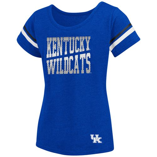 Colosseum Athletics™ Girls' University of Kentucky Fading Dot T-shirt