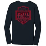 Image One Men's University of Mississippi Finest Shield Comfort Color Long Sleeve T-shirt