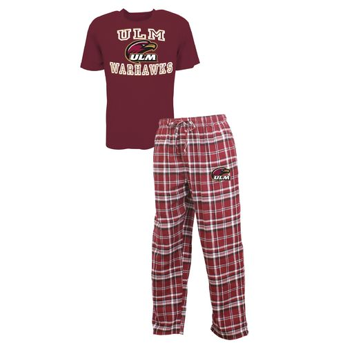Concepts Sport™ Men's University of Louisiana at Monroe Tiebreaker Shirt and Pant Set