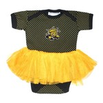 Two Feet Ahead Infants' Wichita State University Pin Dot Tutu Creeper