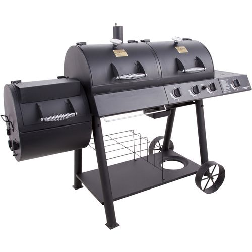 Oklahoma Joe's Longhorn Combo Grill and Smoker