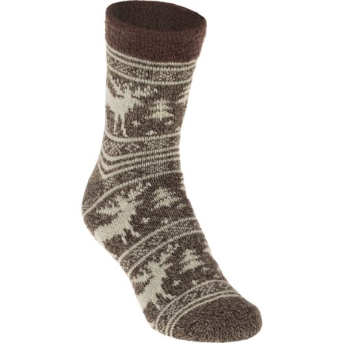 Display product reviews for Magellan Outdoors Men's Lodge Moose Pattern Socks