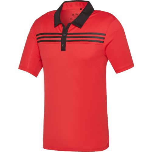 Display product reviews for adidas™ Men's 3-Stripes Textured Polo Shirt