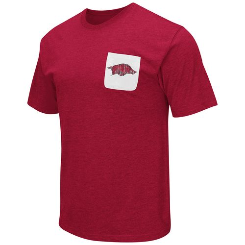 Colosseum Athletics™ Men's University of Arkansas Banya Pocket T-shirt
