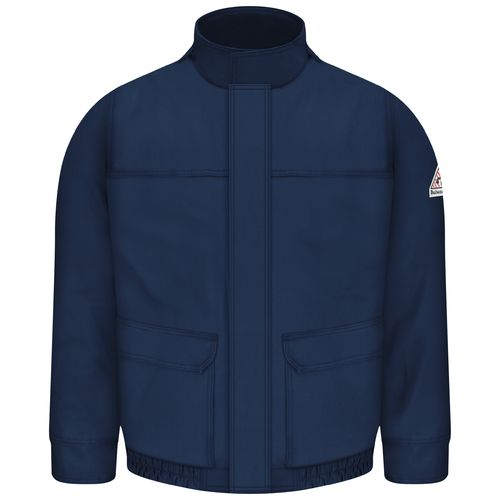 Bulwark Men's Flame Resistant Lined Bomber Jacket