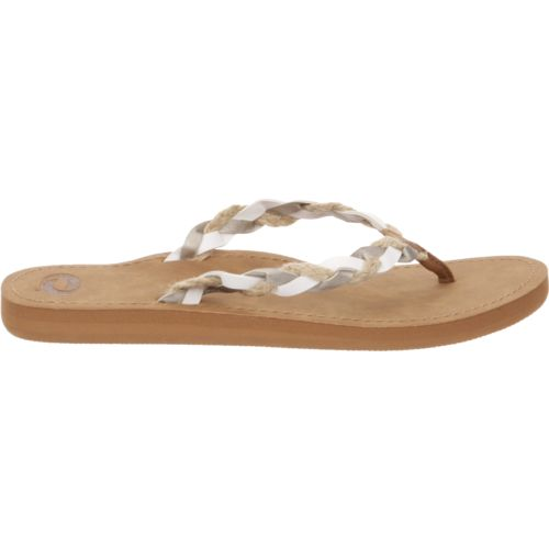 O'Rageous Women's Rafia Braid Sandals - view number 1