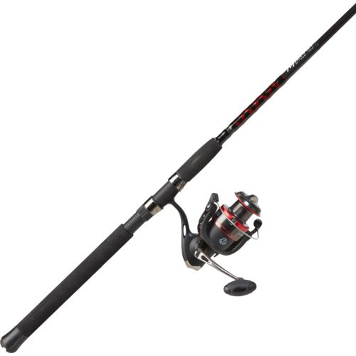 H2o xpress militia 8 39 mh saltwater inshore spinning rod for Saltwater fishing rod and reel combos
