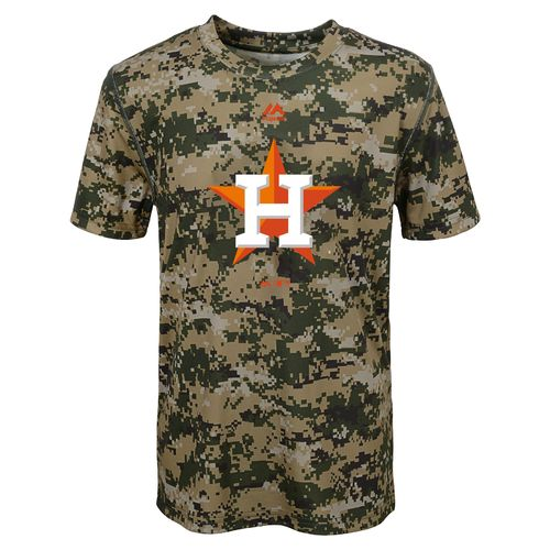 MLB Boys' Houston Astros Digi Camo T-shirt